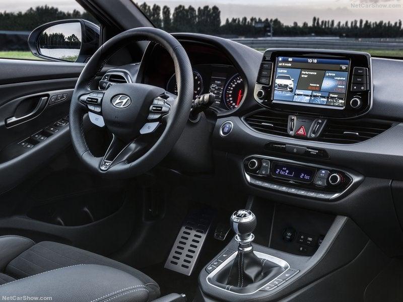 Hyundai i30 N: interior
