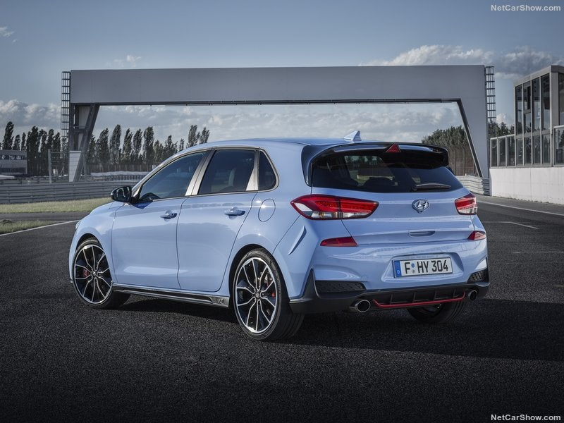 Hyundai i30 N: trasera