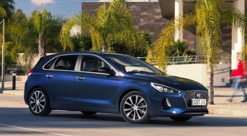 Imagen exterior del Hyundai i30 de 2018.