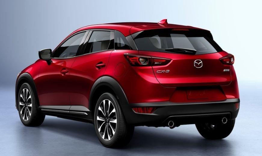 Imagen trasera del Mazda CX-3.