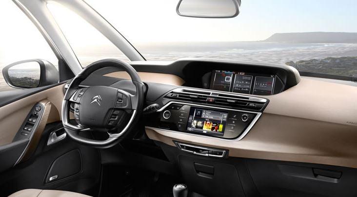 Interior del Citroën C4 Picasso.