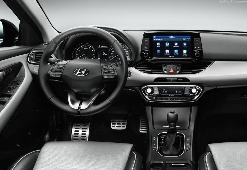 Interior del Hyundai i30 de 2018.