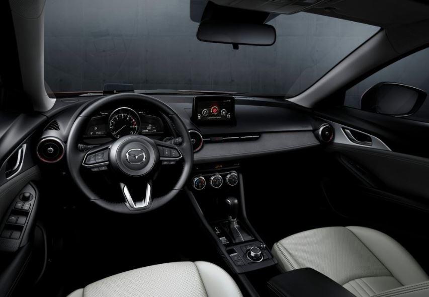 Interior del Mazda CX-3.