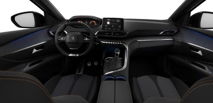 Interior del Peugeot 3008 GT Line.