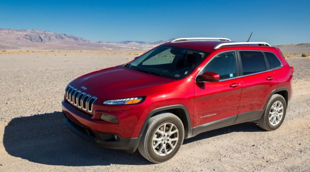 Jeep Cherokee: frontal