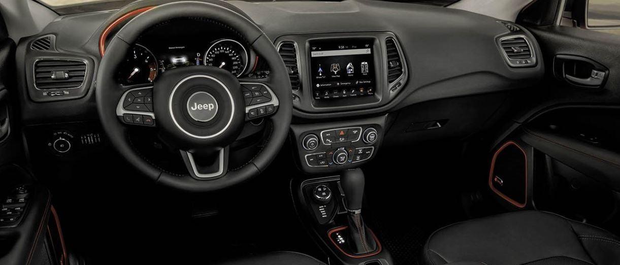 Imgen del interior del nuevo Jeep Compass