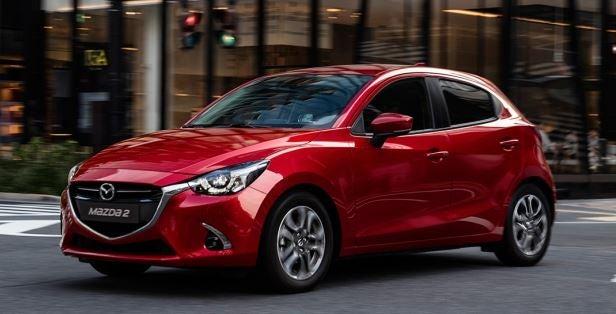 Imagen exterior del nuevo modelo Mazda 2