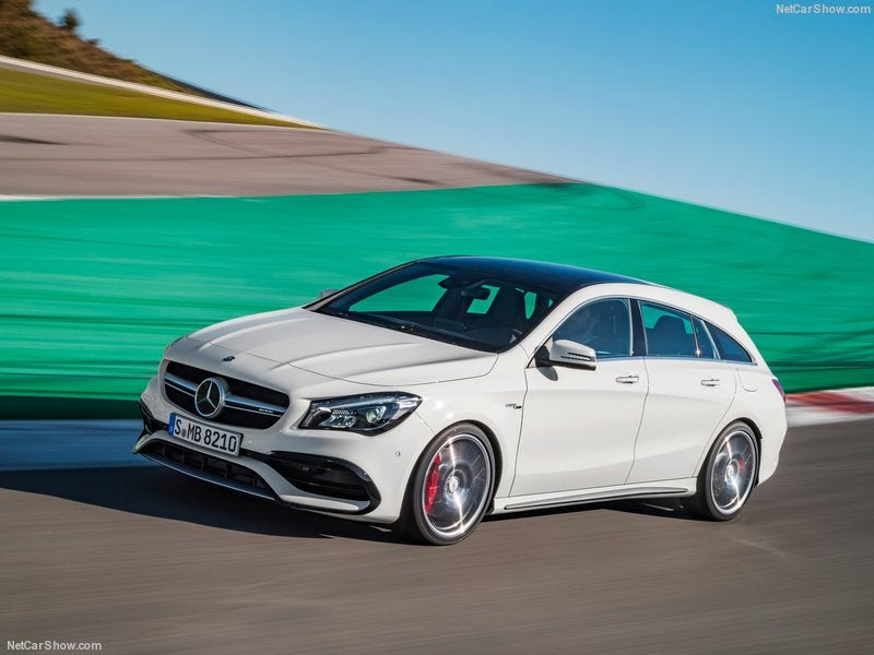 Mercedes AMG CLA 45: frontal