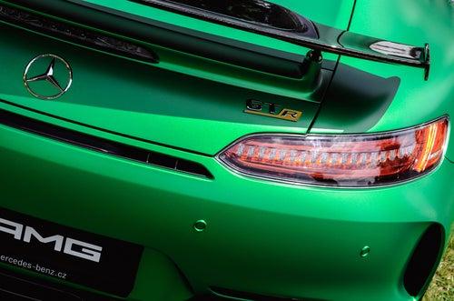 Mercedes AMG GT-R: alerón