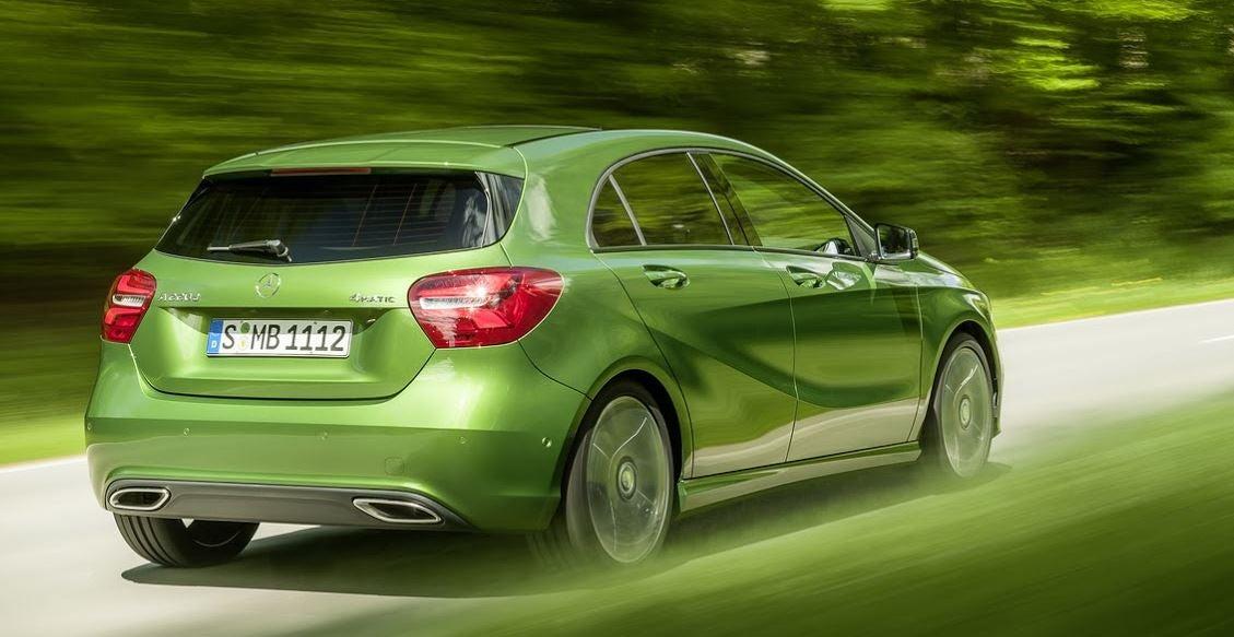 Actual modelo de la versión del Mercedes Clase A.
