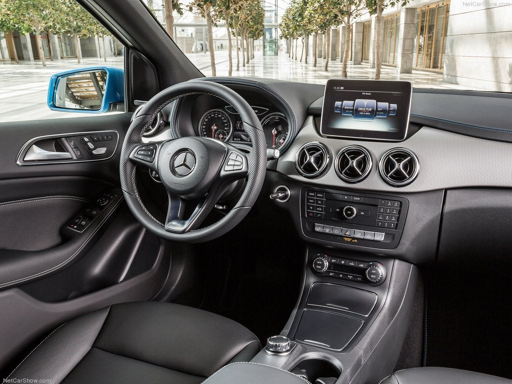 Mercedes Clase B Sports Tourer: interior