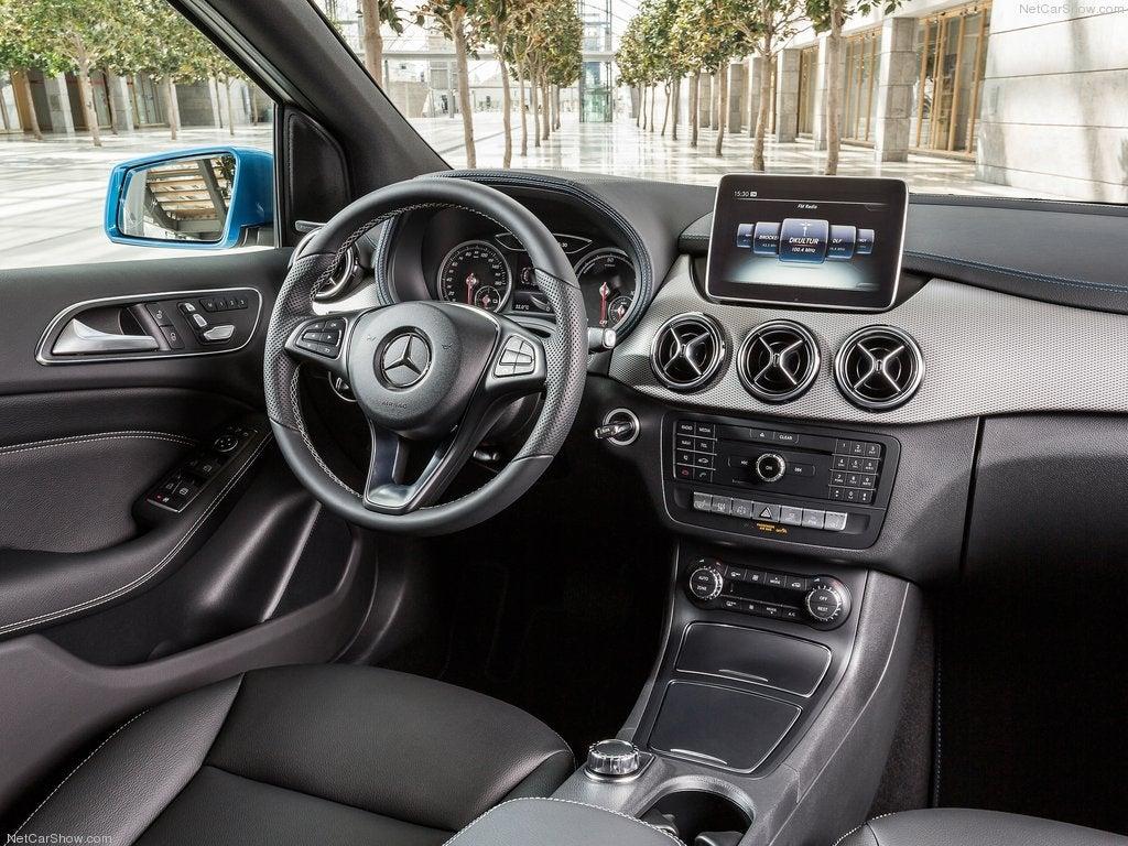 Mercedes Clase B Sports Tourer: interior