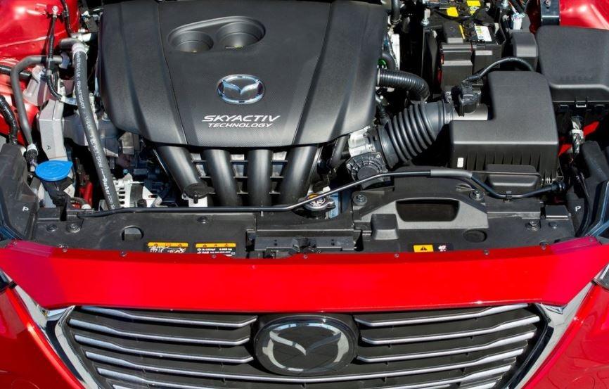 Motor del Mazda CX-3 Skyactive.