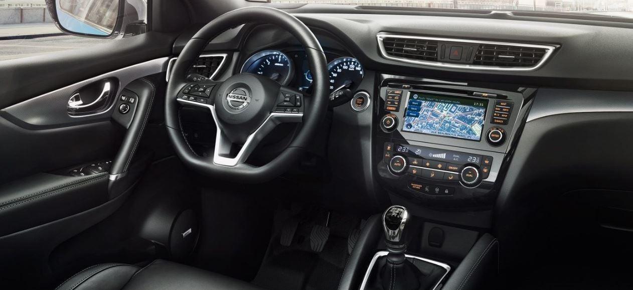 Visión interior del nuevo modelo del Nissan Qasqai