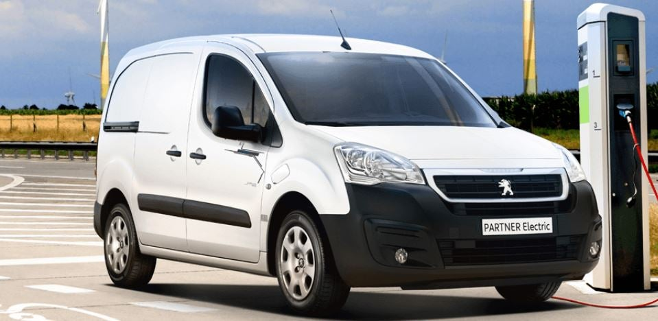 Peugeot Partner electric trabajo furgoneta