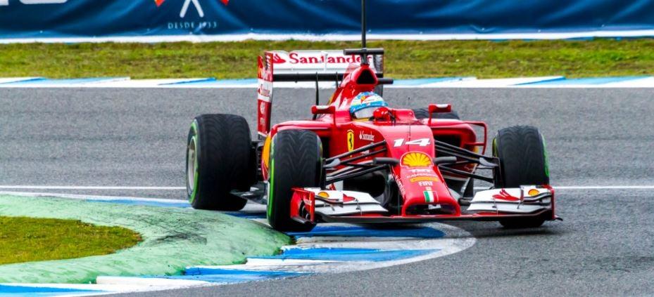 Fernando Alonso Scuderia Ferrari F1
