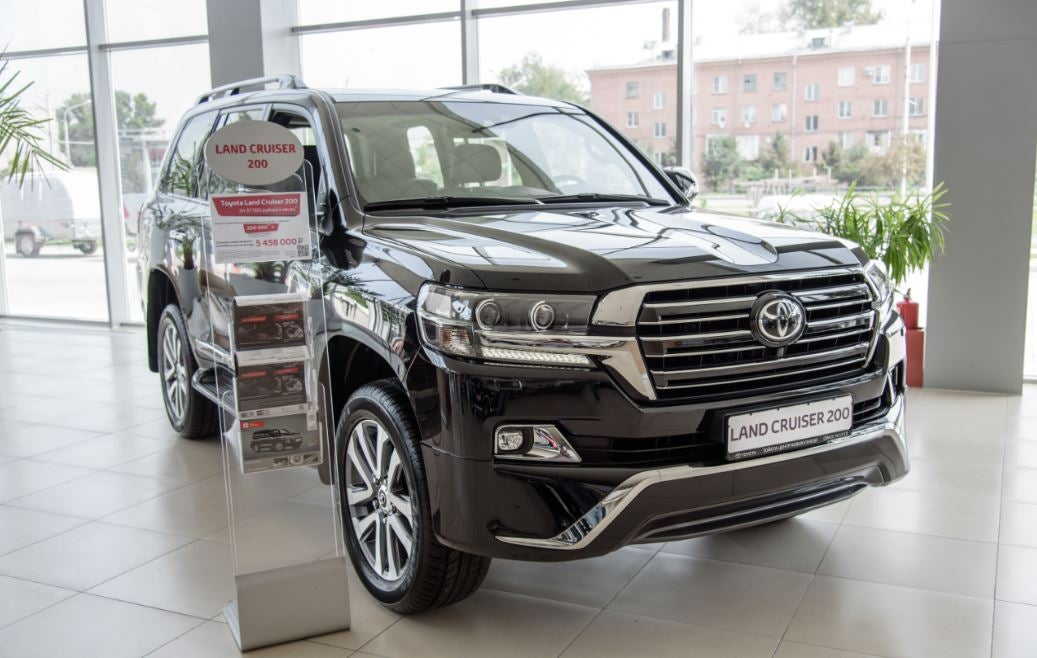 Toyota Land Cruiser: frontal