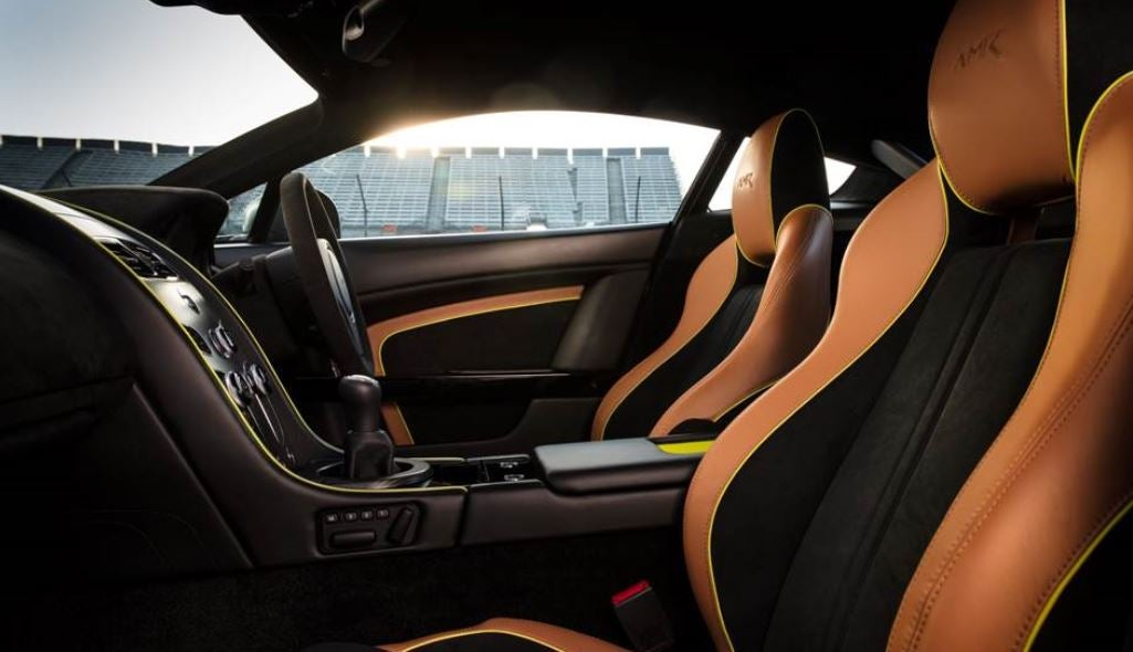 Aston Martin Vantage AMR deportivo lujo