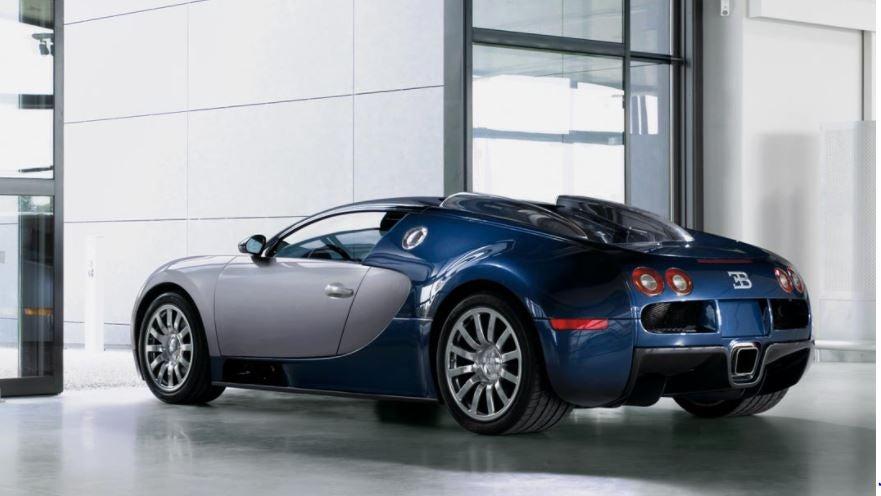 Bugatti Veyron diseño deportivo lujo