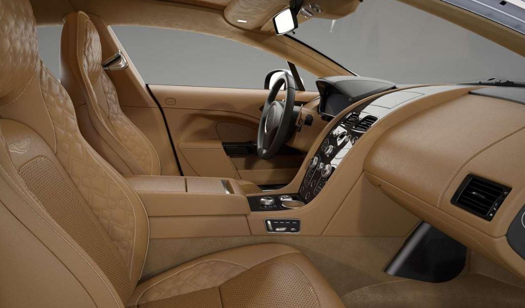 Imagen del interior del nuevo Aston Martin Rapide S superberlina