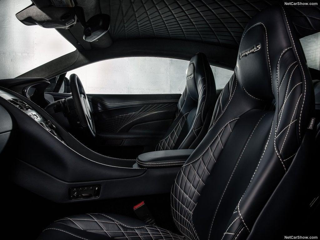 Aston Martin Vanquish S: interior