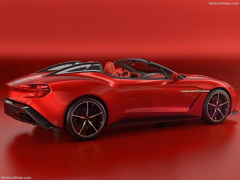 Aston Martin Vanquish Zagato Speedster: trasera