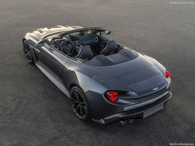Aston Martin Vanquish Zagato Volante: trasera