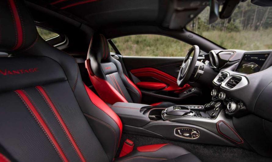 Nuevo Aston Martin Vantage interior superdeportivo lujo