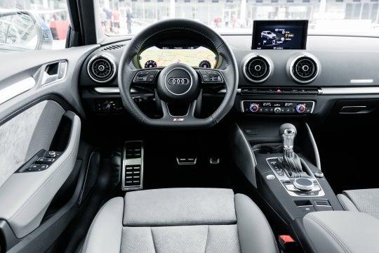 Audi A3: interior