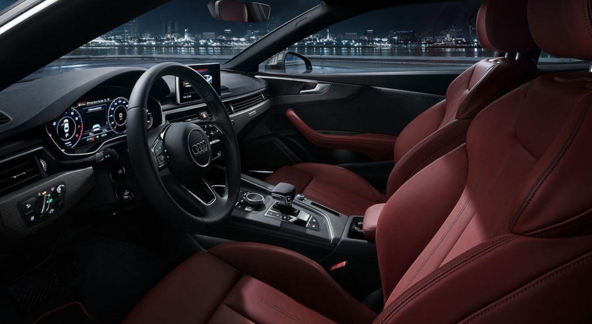 Interior del nuevo Audi A5 2017 2018