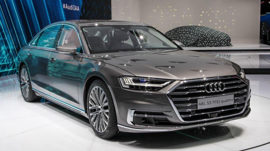 Audi A8 2018 berlina lujo tecnología