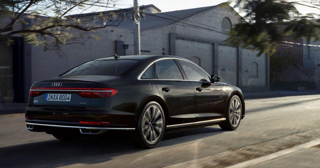 Audi A8 2018 berlina lujo diseño tecnología