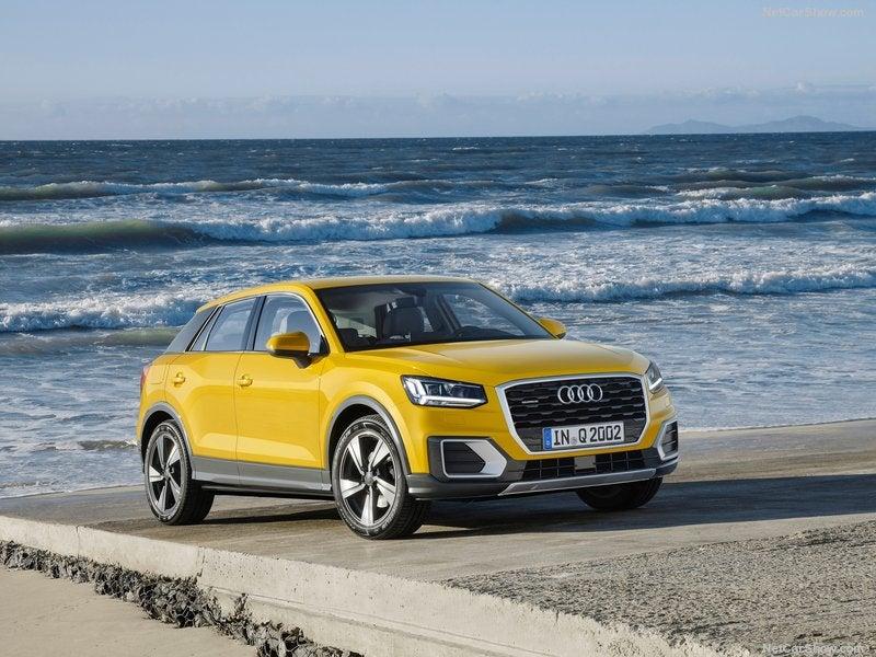 Audi Q2 2017: frontal