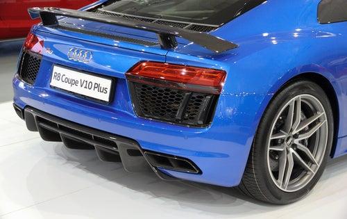 Audi R8: trasera