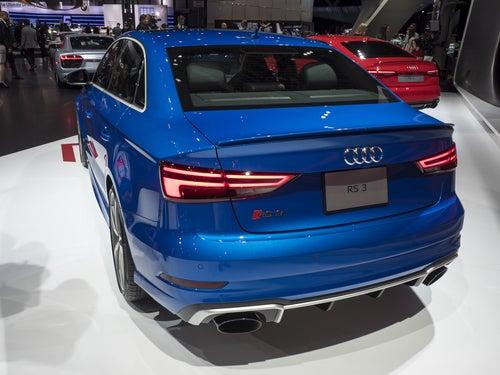 Audi RS3: trasera