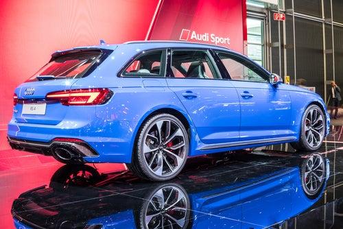 Audi RS4 Avant: trasera