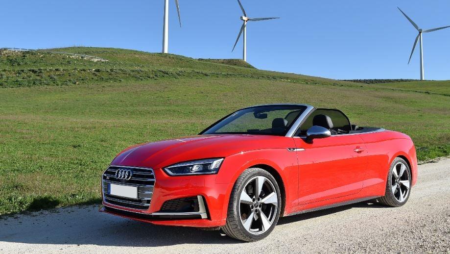 Audi S5 cabrio descapotable coche deportivo lujo barato