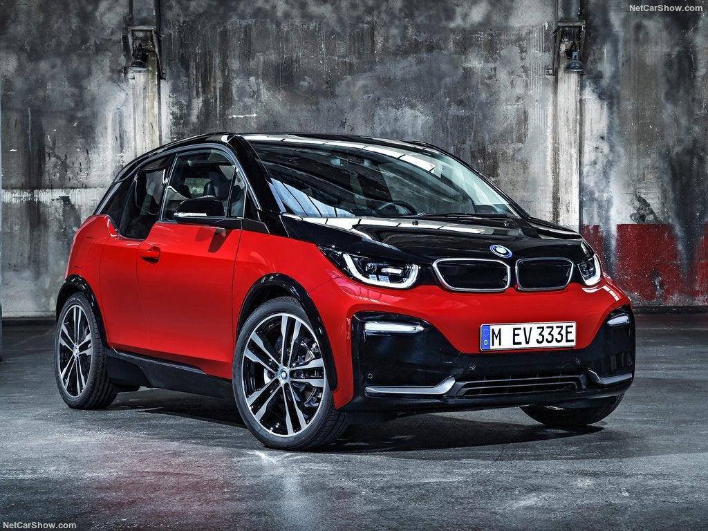 BMW i3: frontal