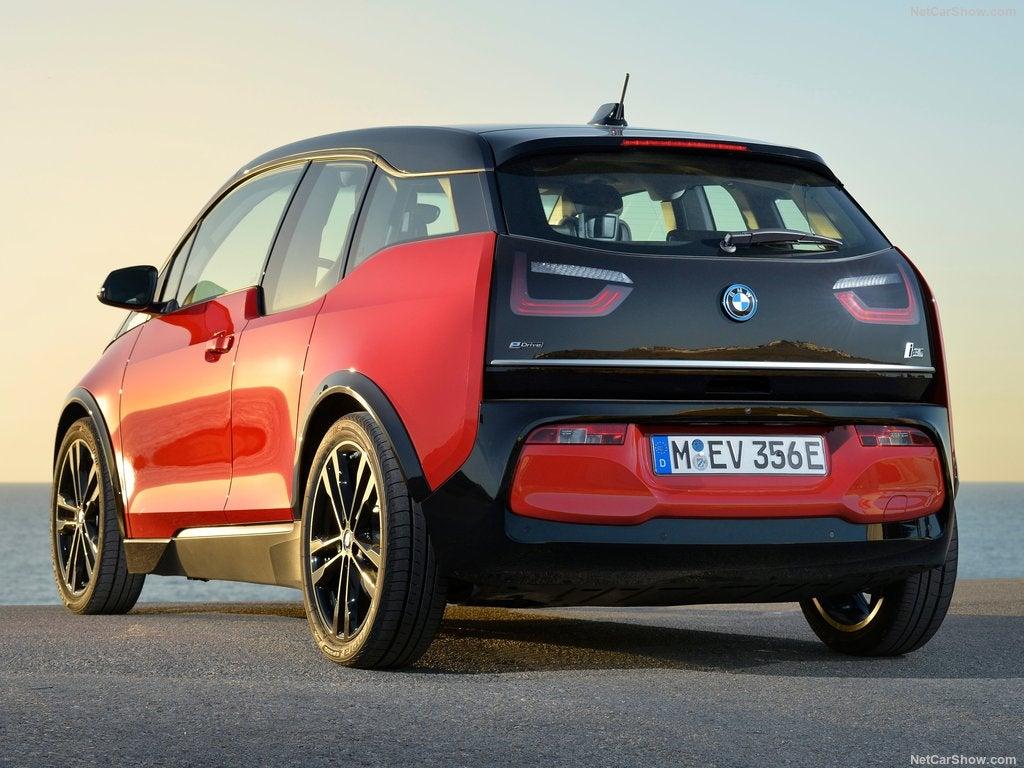 BMW i3: trasera