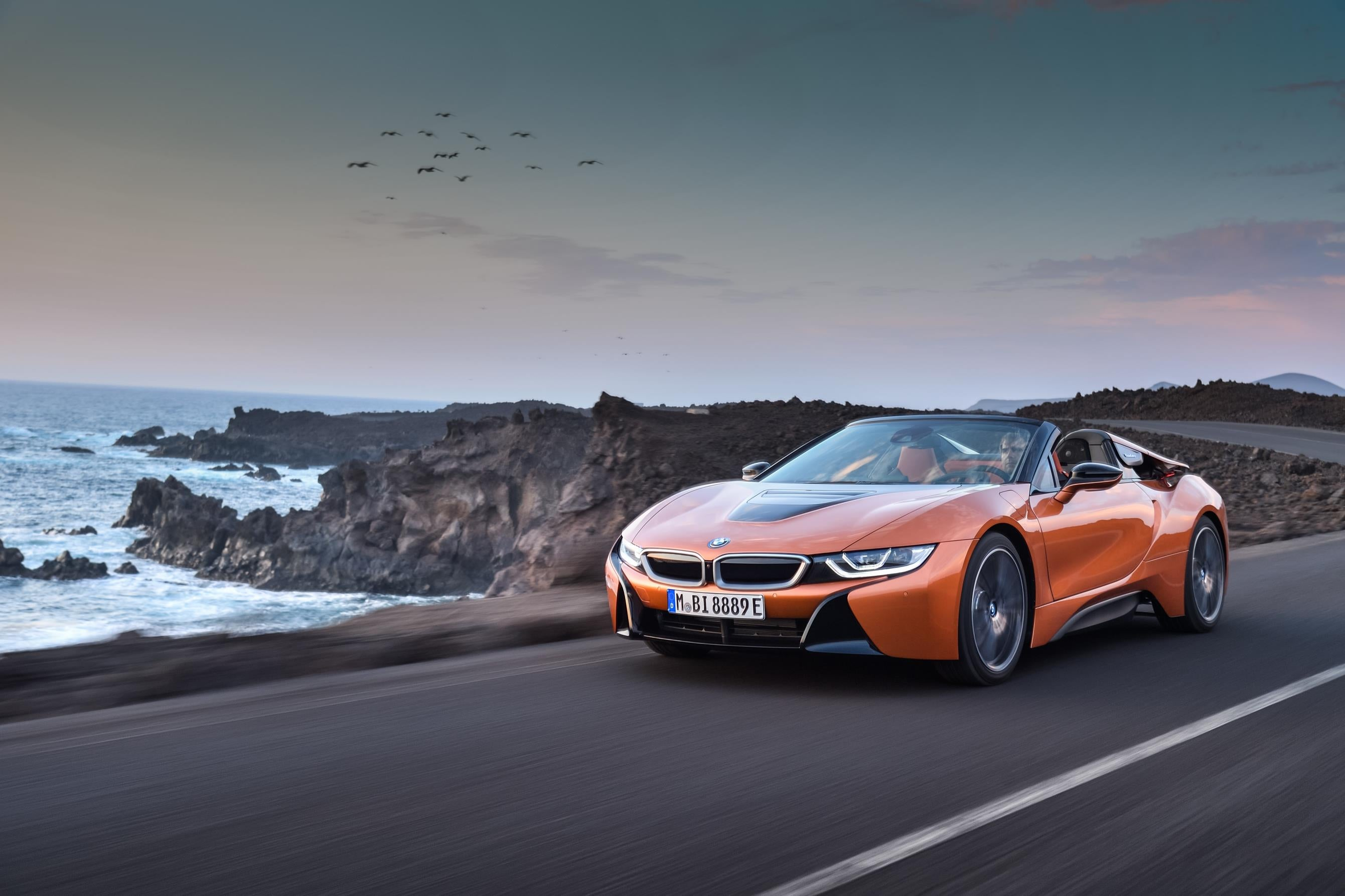 BMW i8 Spyder frontal