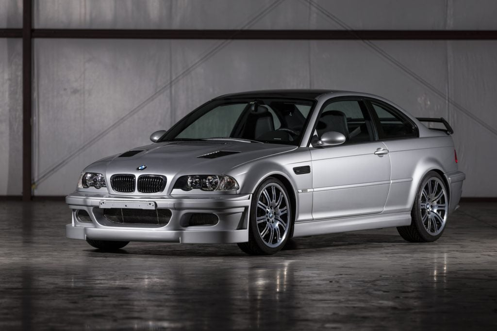 BMW M3 GTR, el primer M3 con motor V8