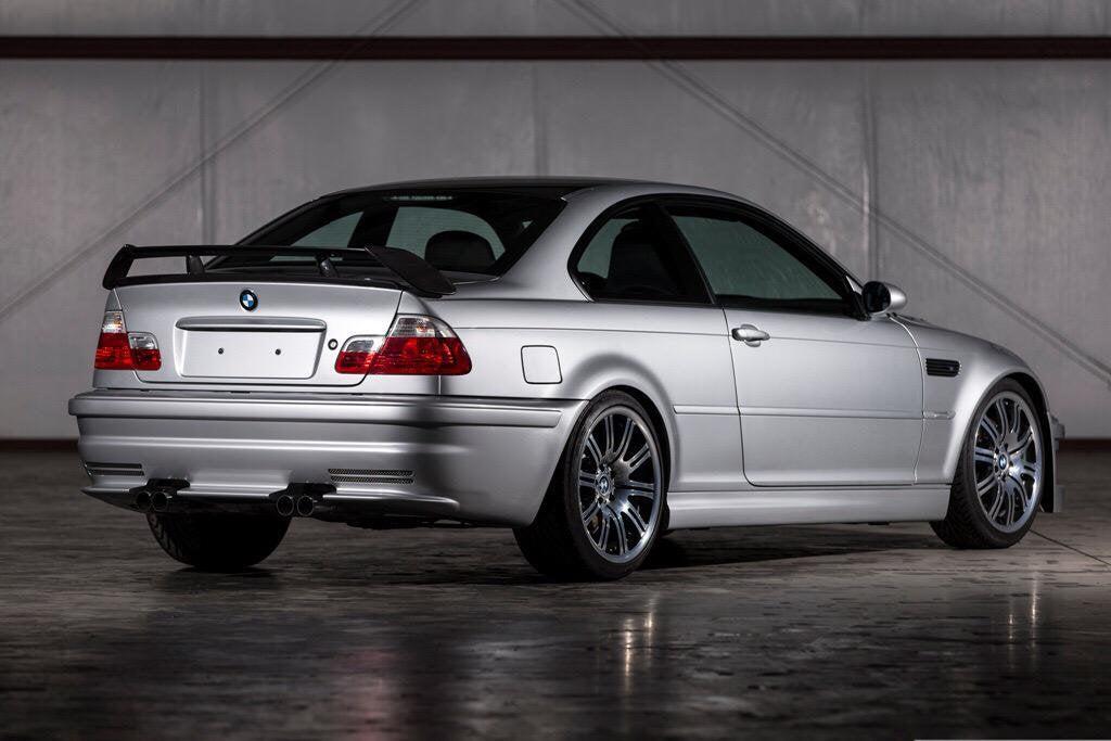 BMW M3 GTR: trasera
