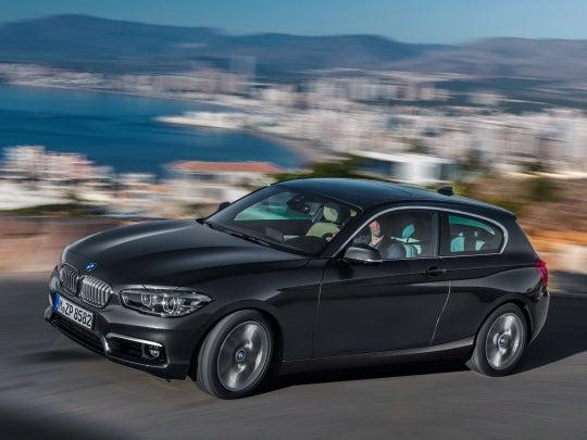 BMW Serie 1, el único compacto con tracción trasera del mercado