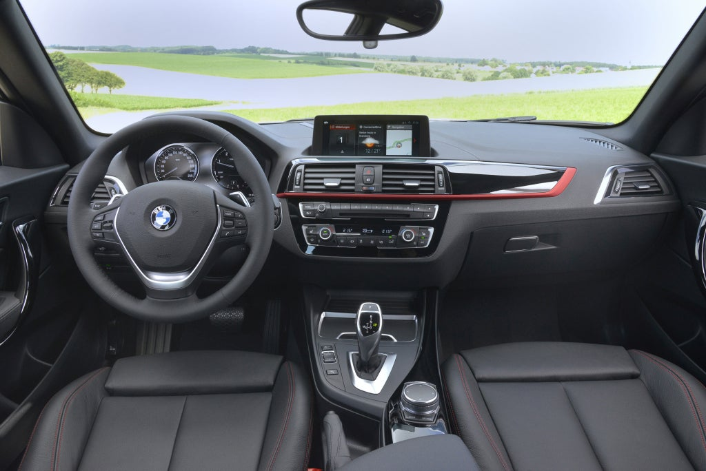 BMW Serie 1: interior