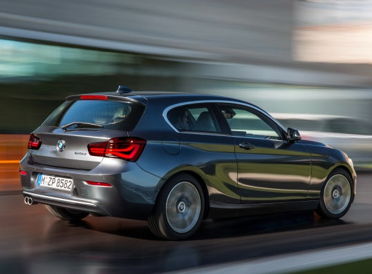 BMW Serie 1: trasera