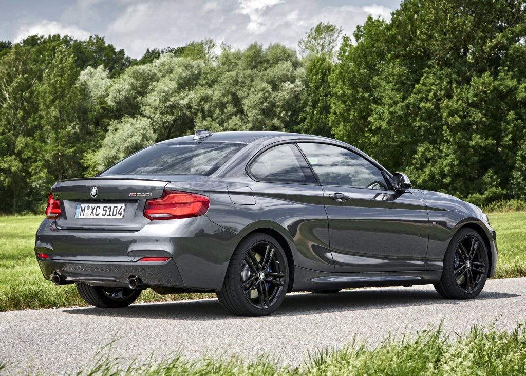 BMW Serie 2: trasera