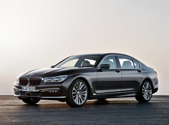 BMW Serie 7: frontal