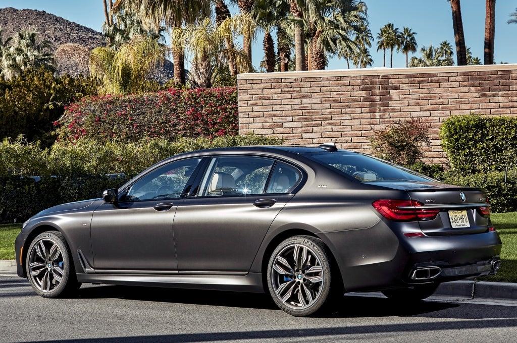 BMW Serie 7: trasera