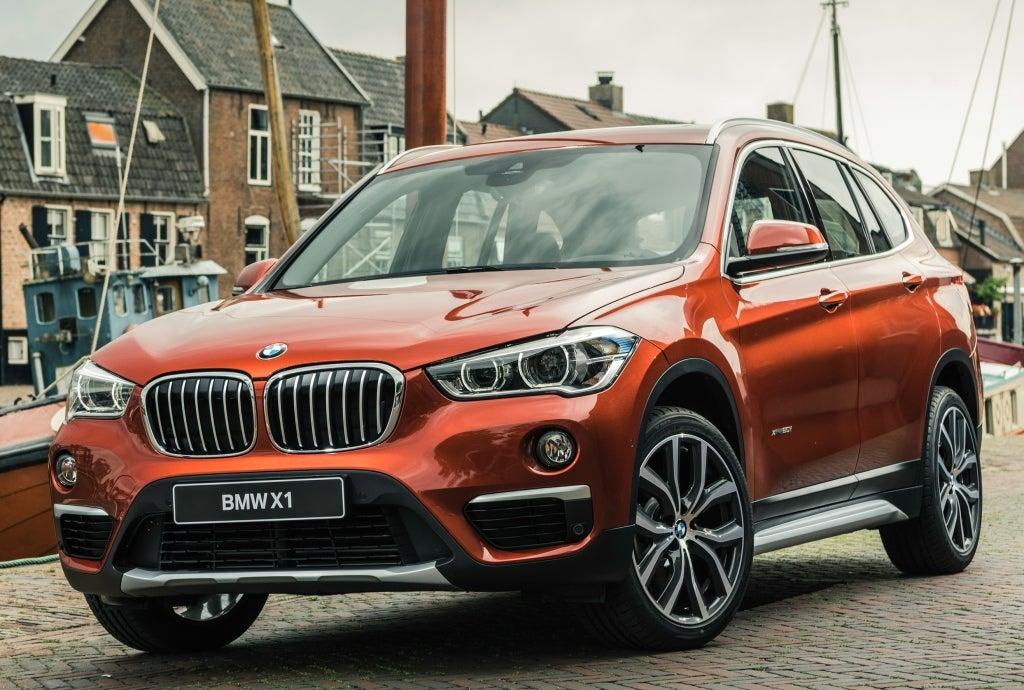BMW X1: frontal