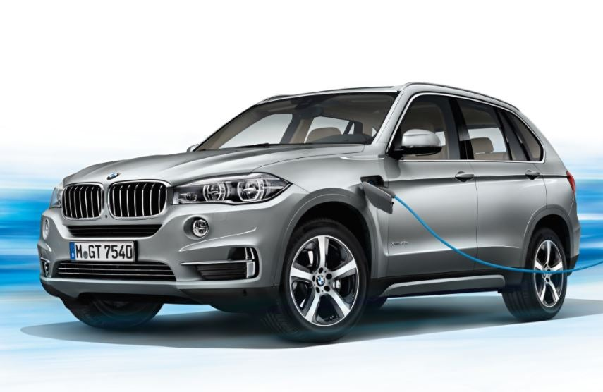 BMW X5 híbrido enchufable.